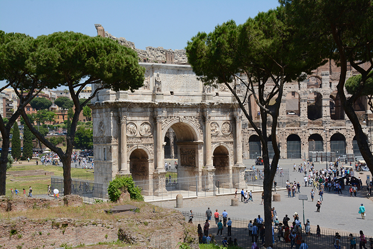 Arch of Constantine in Rome, Italy | My Darling Days