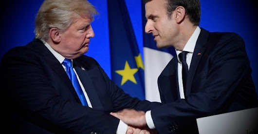 Pres. Macron in the US to Deviate Pres. Trump from Realism to Liberalism
