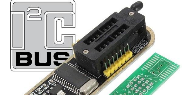 CH341A I2C Programming (Windows API) · One Transistor