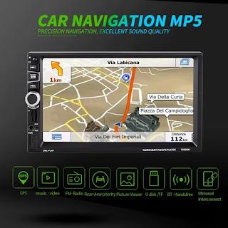 7030gm navigatore mp5 bluetooth gps