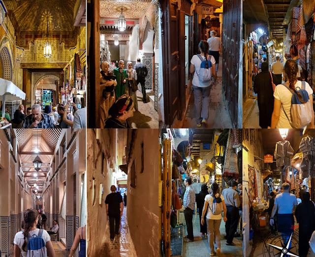 Callejeo por la medina de Fez