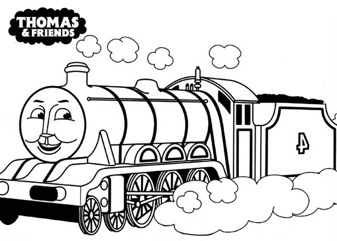 Tomas Tanaka: Free Printable Thomas Coloring Pages