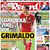 """Nuno Farinha confirma que a infame capa do Record """"Guardiola veio ver Grimaldo"""" era mentira!"""