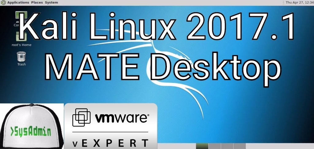 install kali linux 2017.2 on vmware