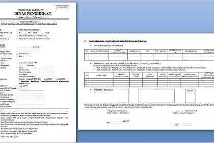 Surat Keterangan untuk Mendapatkan Tunjangan Keluarga