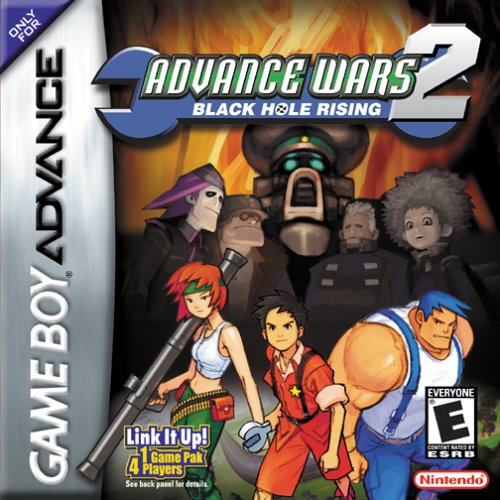 Advance Wars 2: Black Hole Rising - Español - Portada