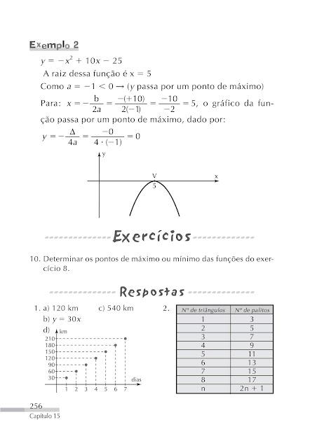 Função do 2 grau exercicios
