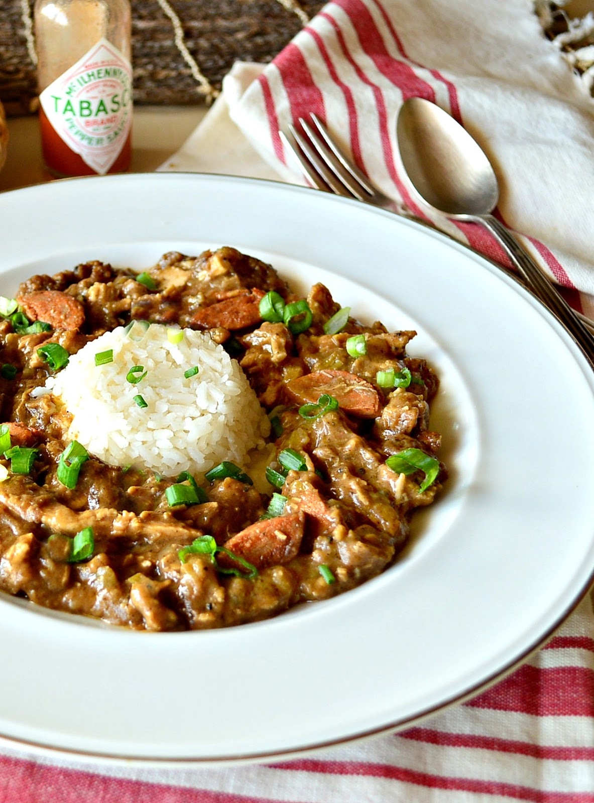 gumbo with chicken and sausage