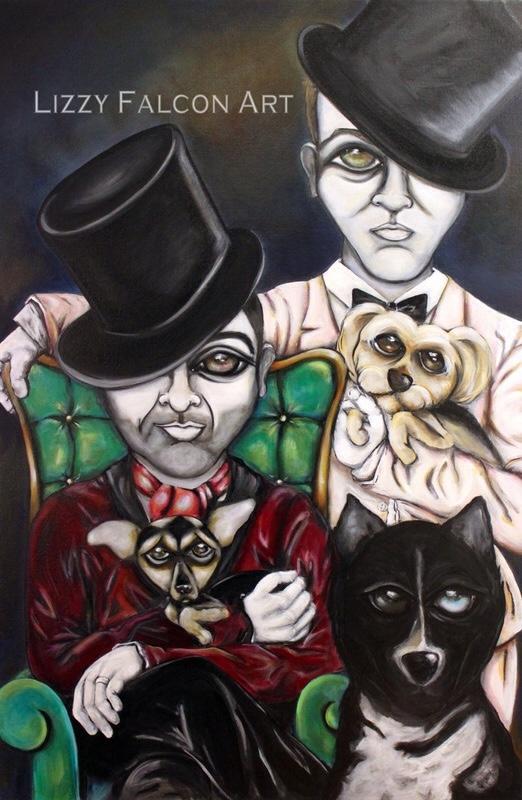 07-Lizzy-Falcon-Paintings-with-Large-Eyes-and-Big-Personalities-www-designstack-co
