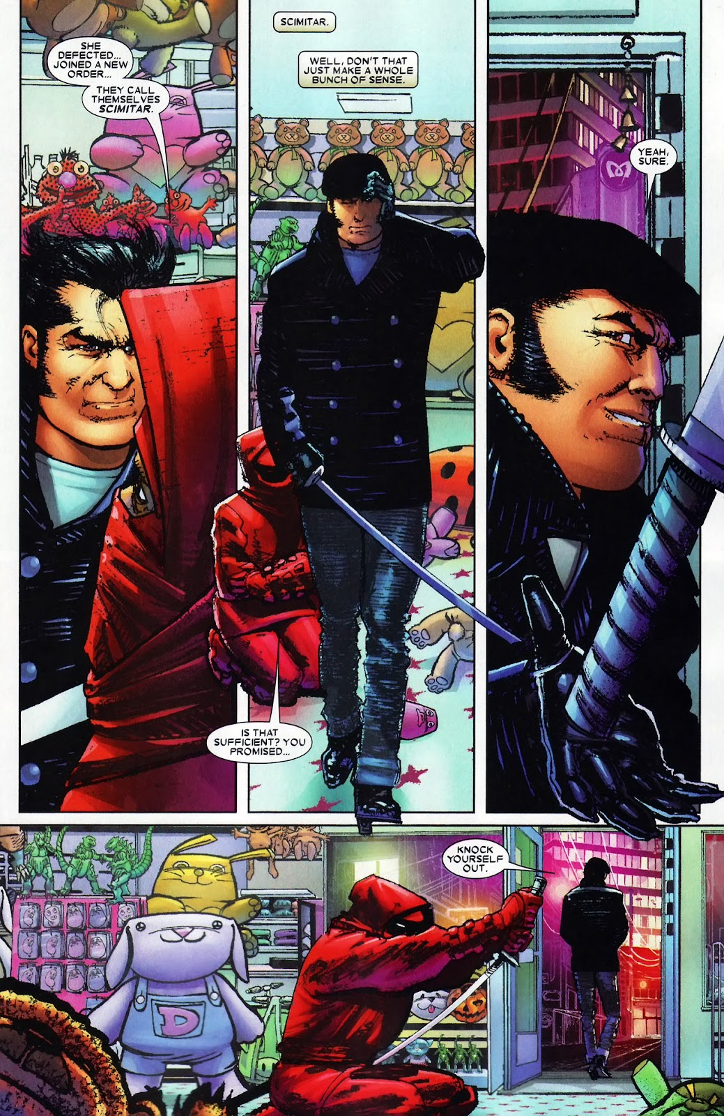 Read online Wolverine (2003) comic -  Issue #60 - 11