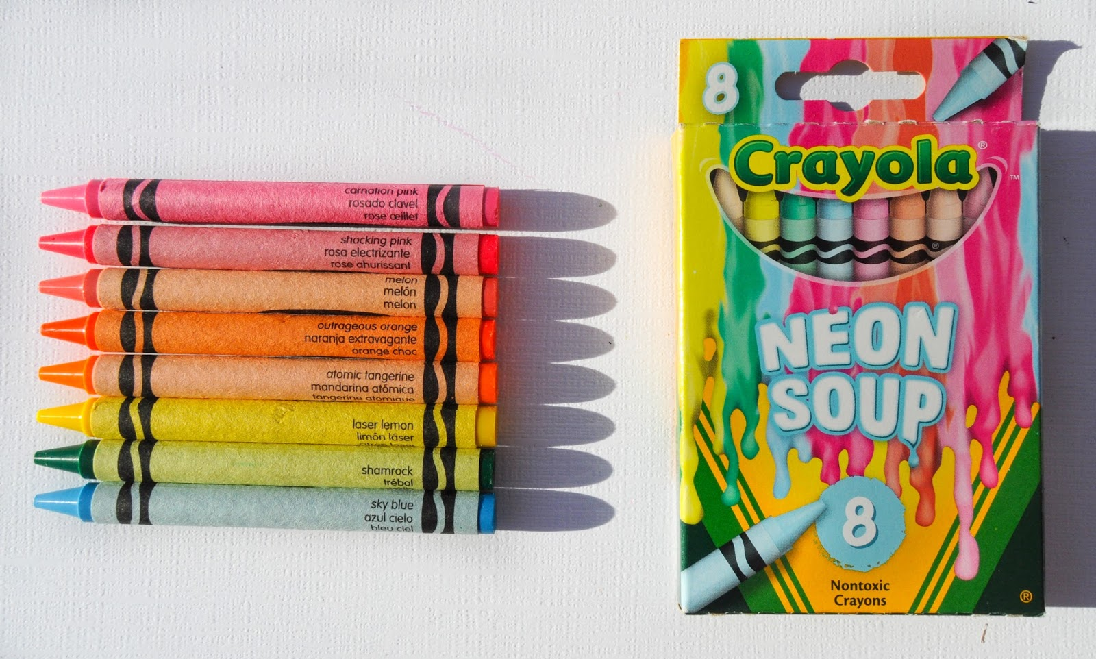 8 Count Crayola Meltdown Crayons What S Inside The Box