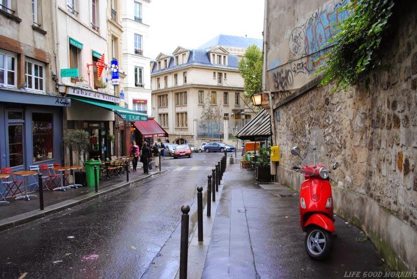 Paryż w pozytywach.