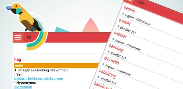 Từ điển Anh Việt Android miễn phí
