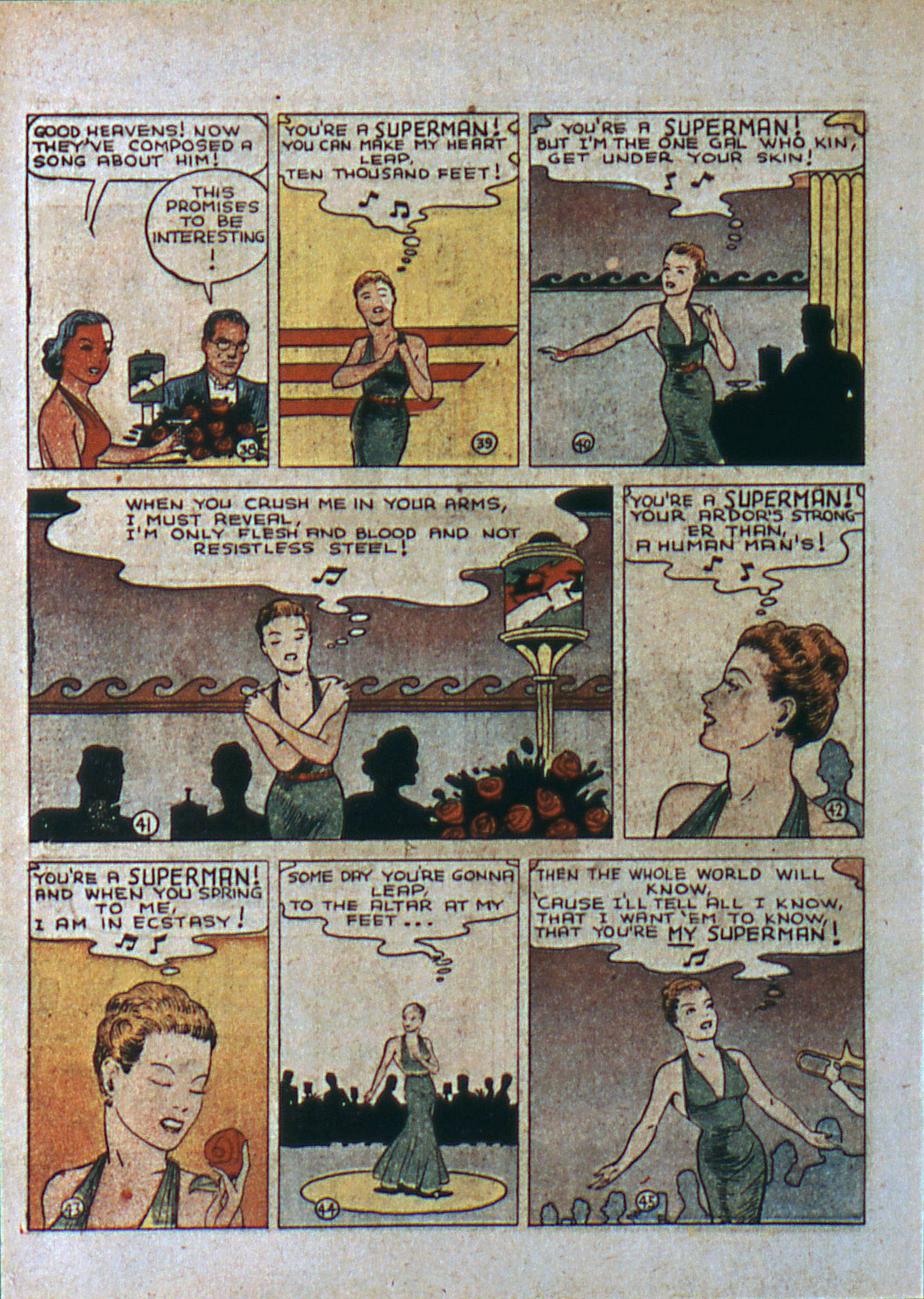 Read online Action Comics (1938) comic -  Issue #6 - 9