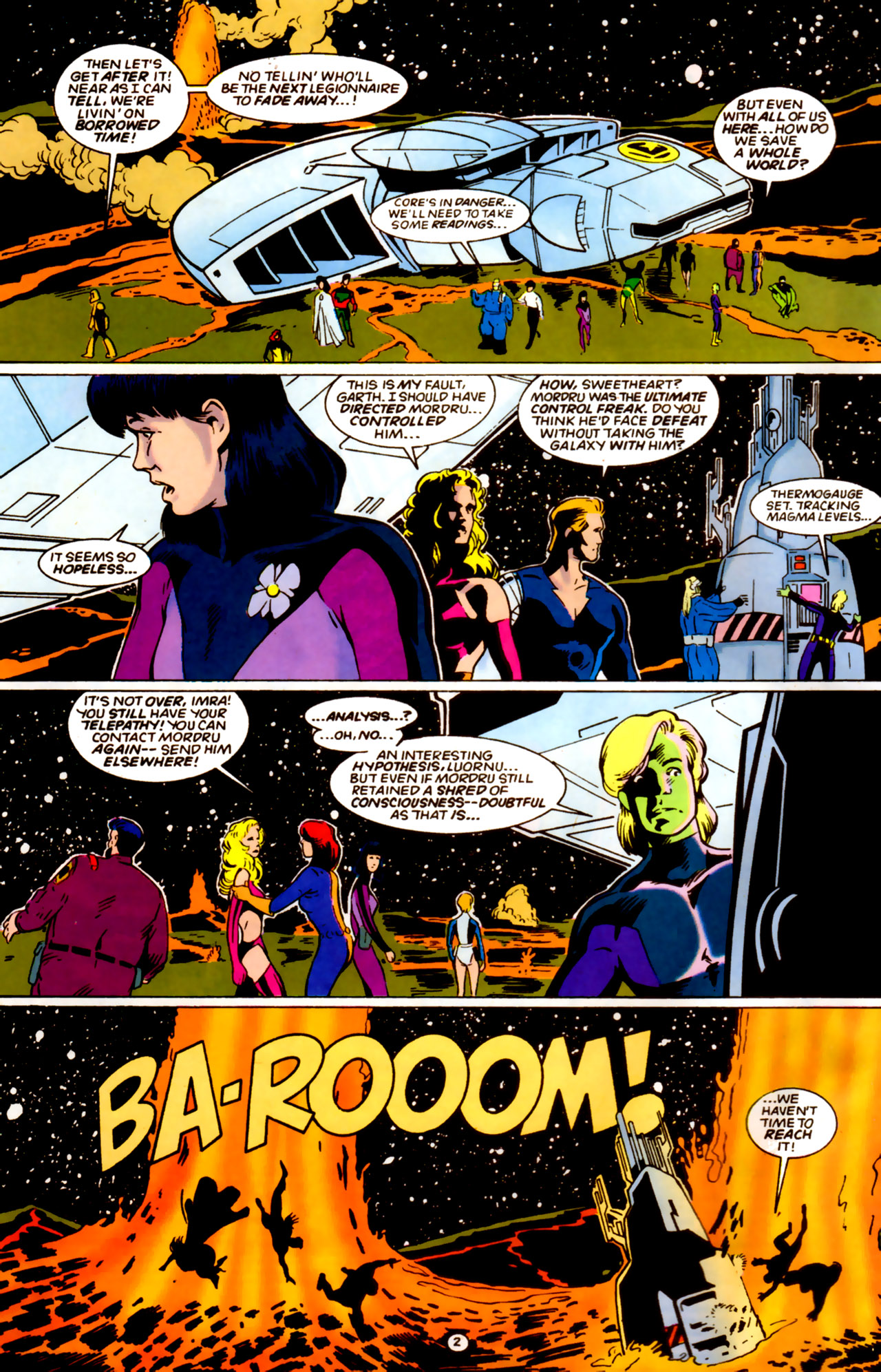 Legion of Super-Heroes (1989) 61 Page 2