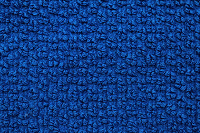 Seamless Blue Carpet Texture