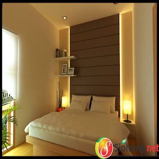 dekor kamar tidur simple