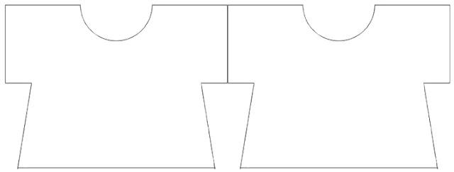 Plantillas de Camisetas para Tarjetas o Invitaciones.