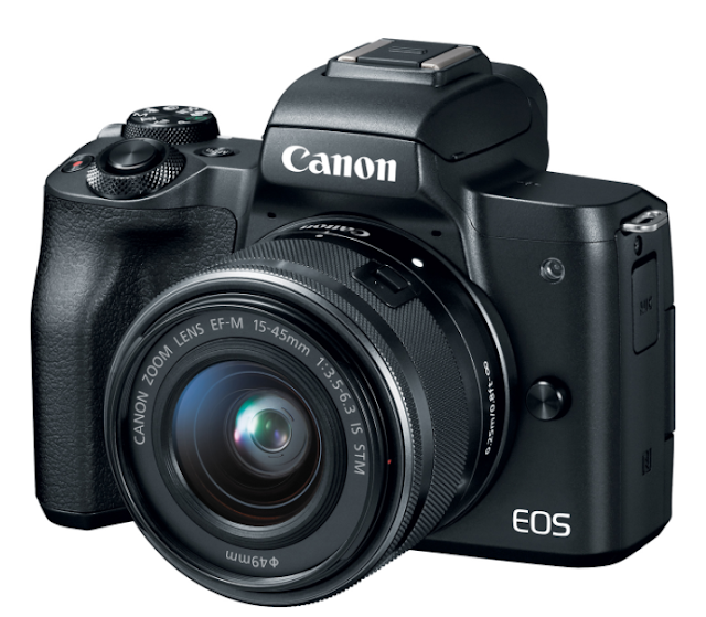 Canon EOS M50 Mirrorless Camera Front