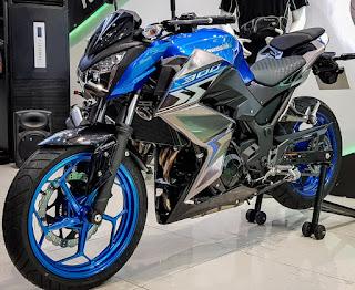 Thông số kỹ thuật Kawasaki Z300 2018