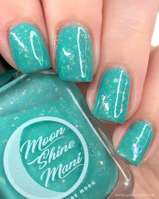 Moon Shine Mani Long Time No Sea