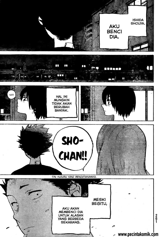 Koe no Katachi Chapter 14-25