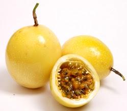 Foto de la fruta maracuya