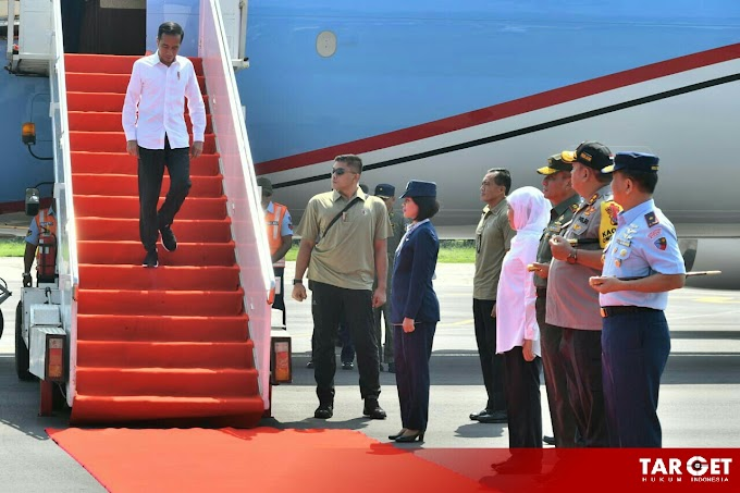 Bertolak ke Jawa Timur, Presiden Joko Widodo Resmikan Jalan Tol Pandaan Malang