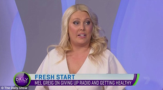 'I needed to focus on my health'- Mel Greig reveals why she quit her career in radio