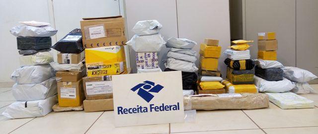 Receita Federal faz operação nos Correios e apreende mercadorias