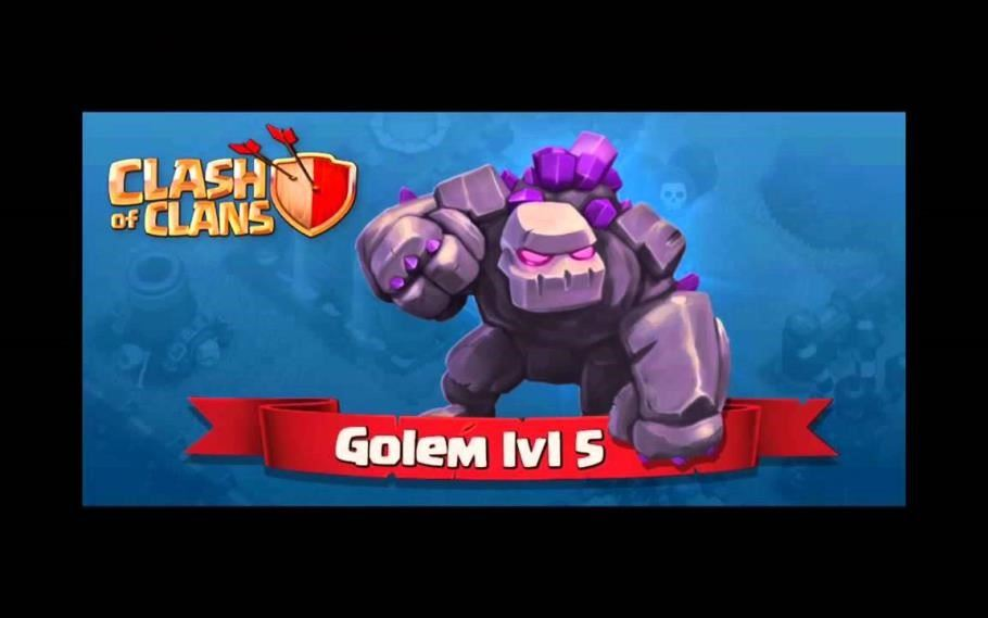 clash of clans golem level 6