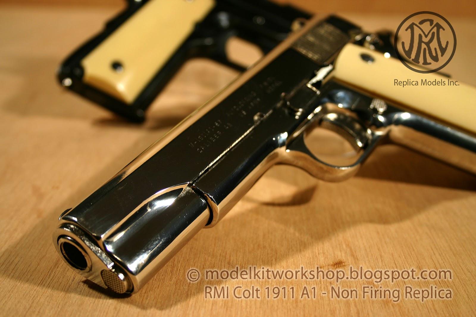 MODELKIT WORKSHOP: NON FIRING REPLICA (Metal) : RMI Colt 1911 A1 45 acp