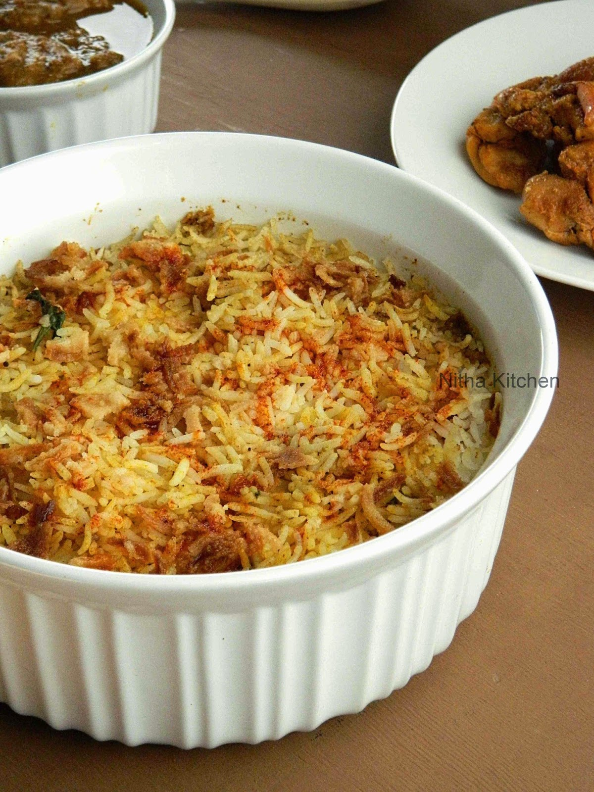 Nitha Kitchen: Chicken Tikka Dum Biryani | How to make ...