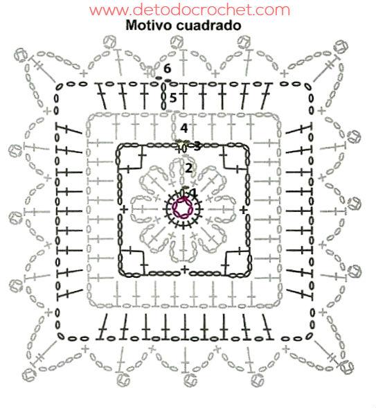 Chaleco Con Cuadros Crochet / Paso a paso | Todo crochet