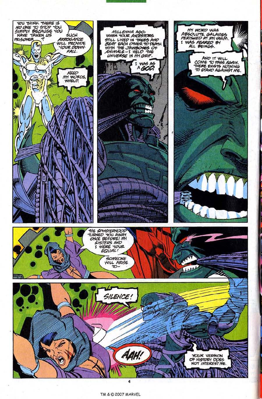 Read online Silver Surfer (1987) comic -  Issue #82 - 6