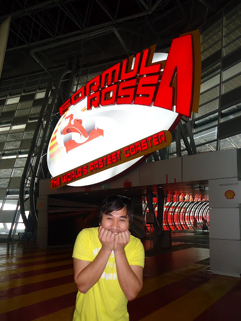 Formula Rossa at Ferrari World Yas Island Abu Dhabi