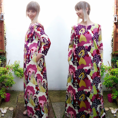 Esme Kaftan by Ivy Arch, two views!
