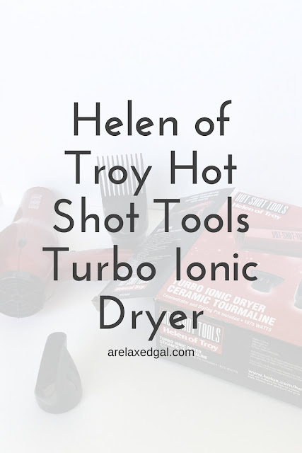 A review of the Helen of Troy Hot Shot Tools Turbo Ionic dryer. | arelaxedgal.com