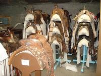 saddle storage, museums, historic sites, cultural heritage, antique saddles, safe storage of saddles