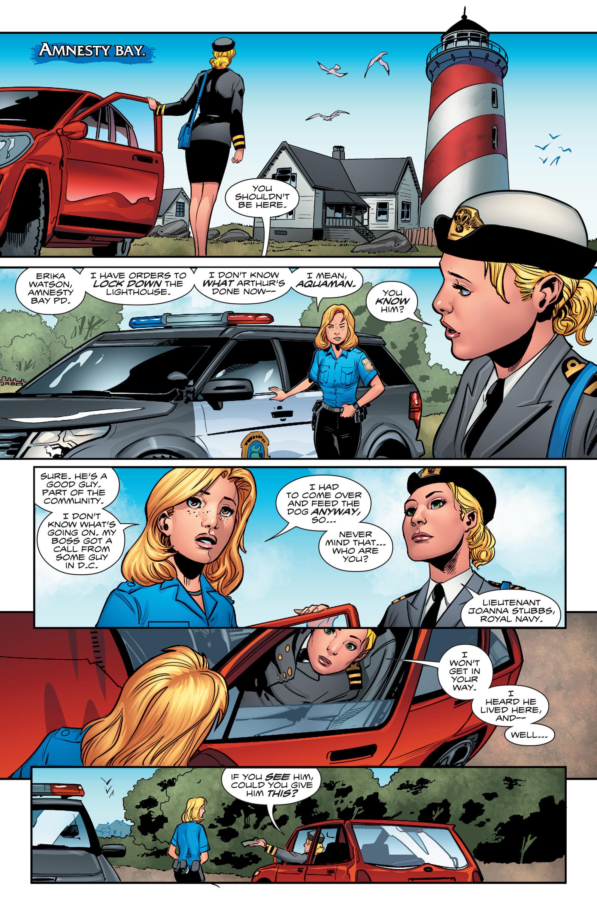 Read online Aquaman (2016) comic -  Issue #5 - 19