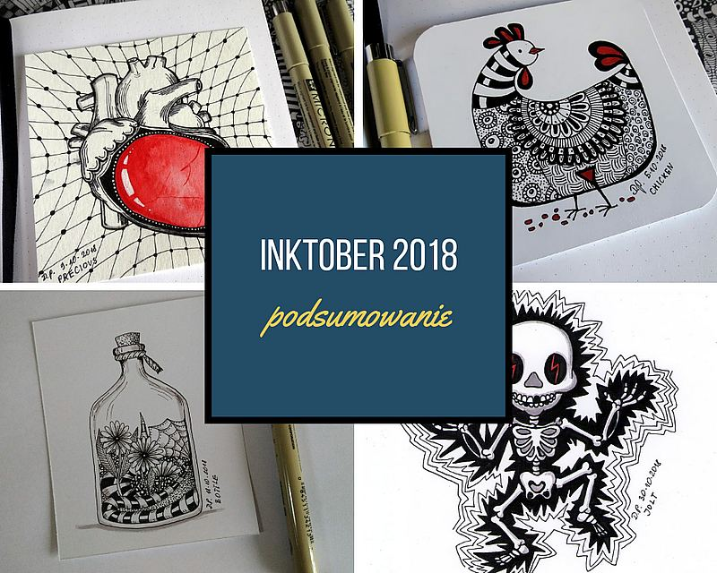 Inktober - rysunkowe wyzwanie