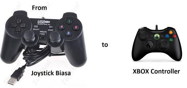 Cara Setting Joystick PC Agar Terdeteksi di Game Sebagai XBOX Controller