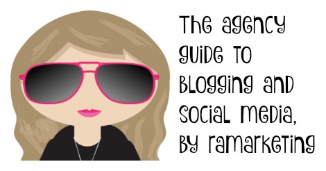 The agency guide to blogging and social media, by ramarketing