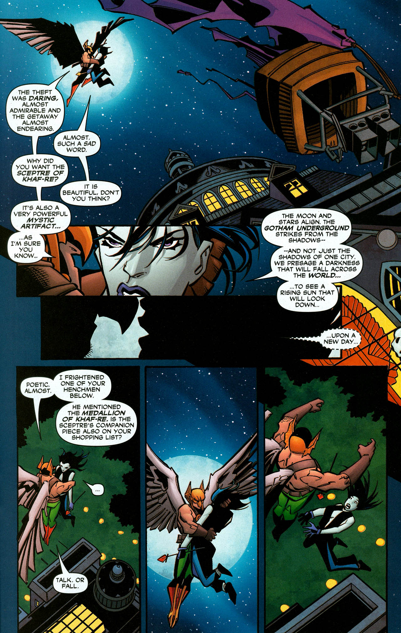Read online Trinity (2008) comic -  Issue #6 - 21