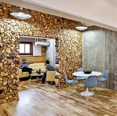 современный офис интерьер