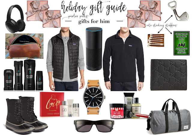 parlor girl holiday gift guide for him