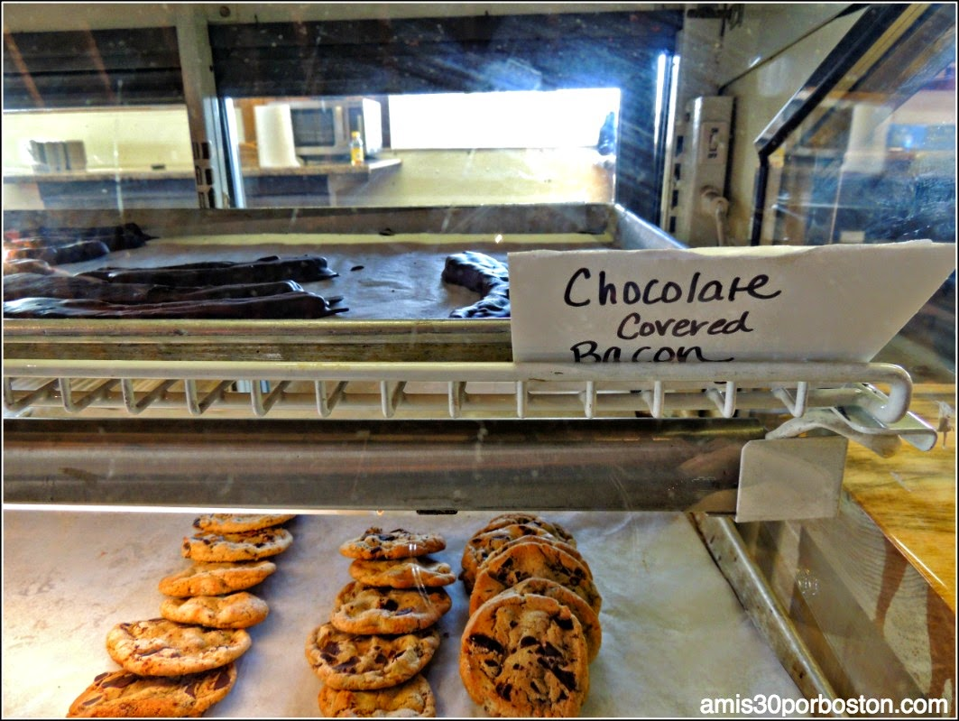 Maple Sugar Season en Massachusetts: Beicon con Chocolate en Hollis Hills Farm
