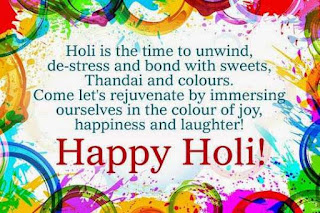 Happy Holi Wishes 2019 in English