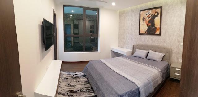 Phòng ngủ căn hộ mẫu chung cư DLC Complex