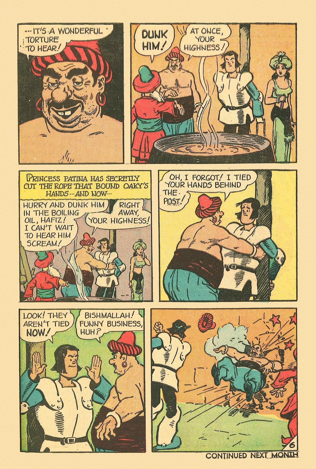 Read online Famous Funnies comic -  Issue #181 - 49